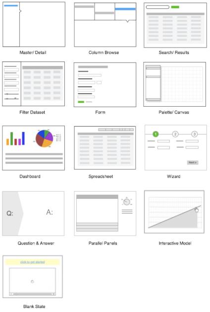 12 Standard Screen Patterns